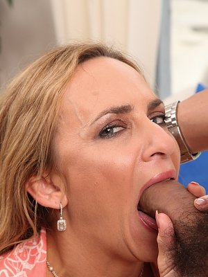 Hot Blonde Cougar Fucked