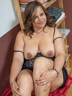 Busty Wife Posing